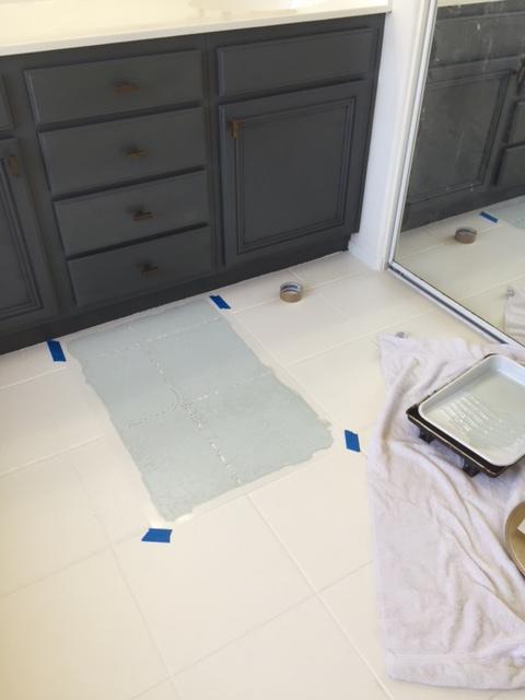 Paint Floor Tiles A Complete Tutorial Diy Domestic Blonde