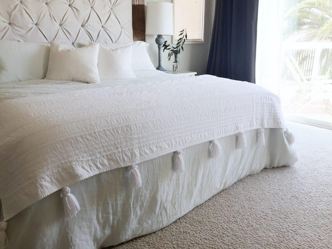Easy Tassel Blanket