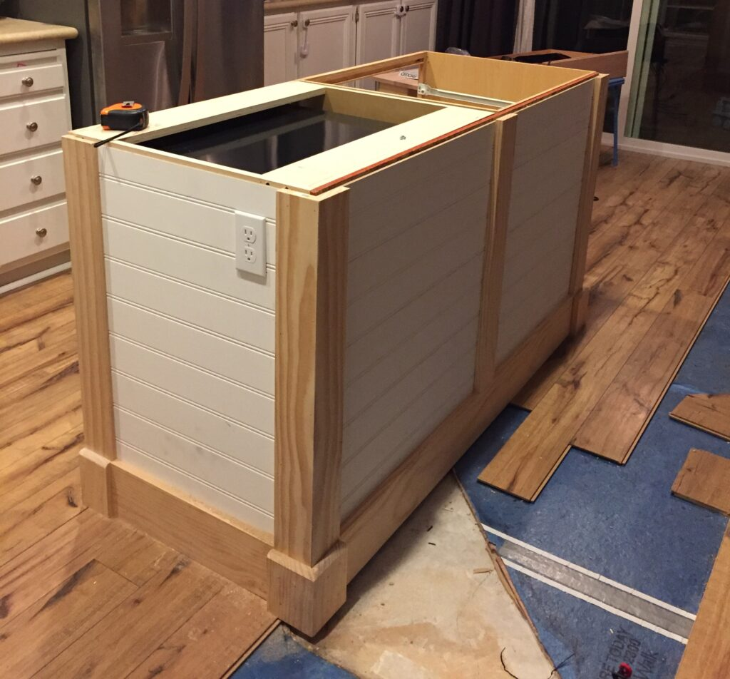 A DIY Kitchen Island: Make it yourself and Save Big!