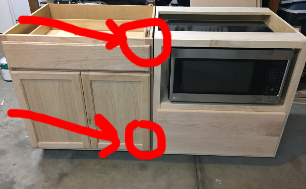 DIY Kitchen Island tutorial featured by top DIY blog, Domestic Blonde