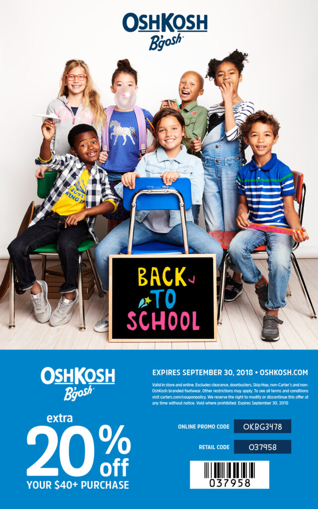 Back To School Part 2- Fashion Edition With OshKosh!