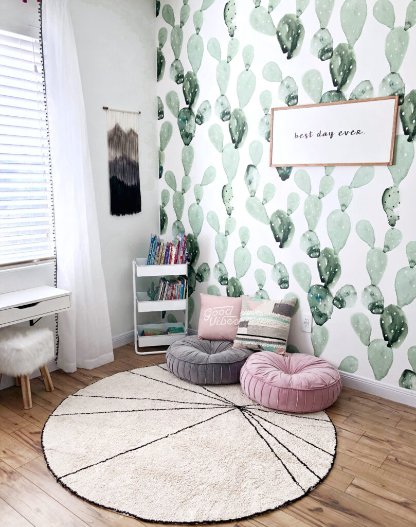 Fun playroom ideas featured by top US DIY and Home Decor blog, Domestic Blonde