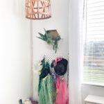 DIY Basket Light & Macrame Cord