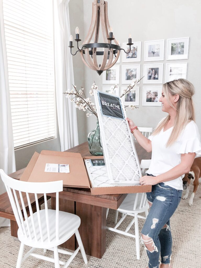 FilterEasy HVAC Filters review featured by top US lifestyle blog, Domestic Blonde