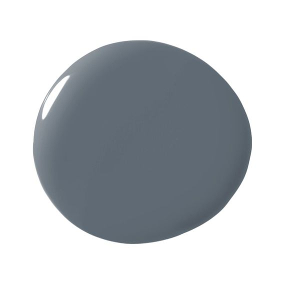 Grey Paint Colors by popular interior design blog, Domestic Blonde: image of Benjamin Moore Oxford Grey paint. | Grey Paint Colors by popular interior design blog, Domestic Blonde: image of Sherwin Williams Granite Peak grey paint.