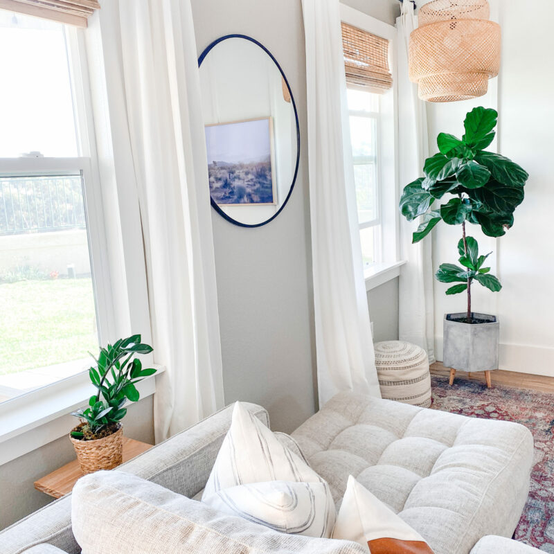 DIY Window Frame In A Snap!
