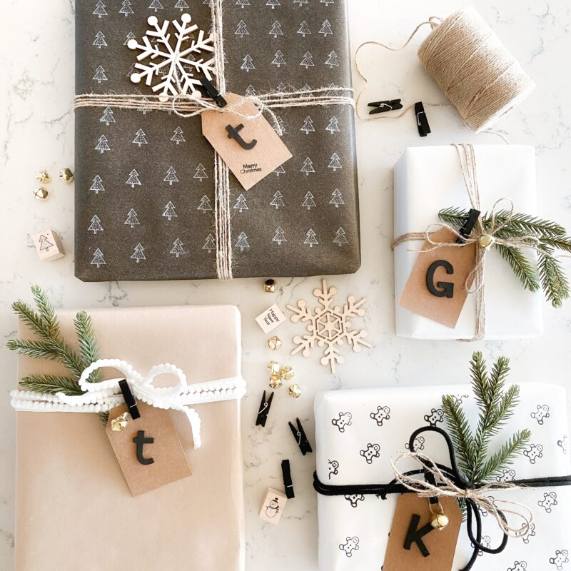 Personalize Your Gift Wrap For a Special Touch
